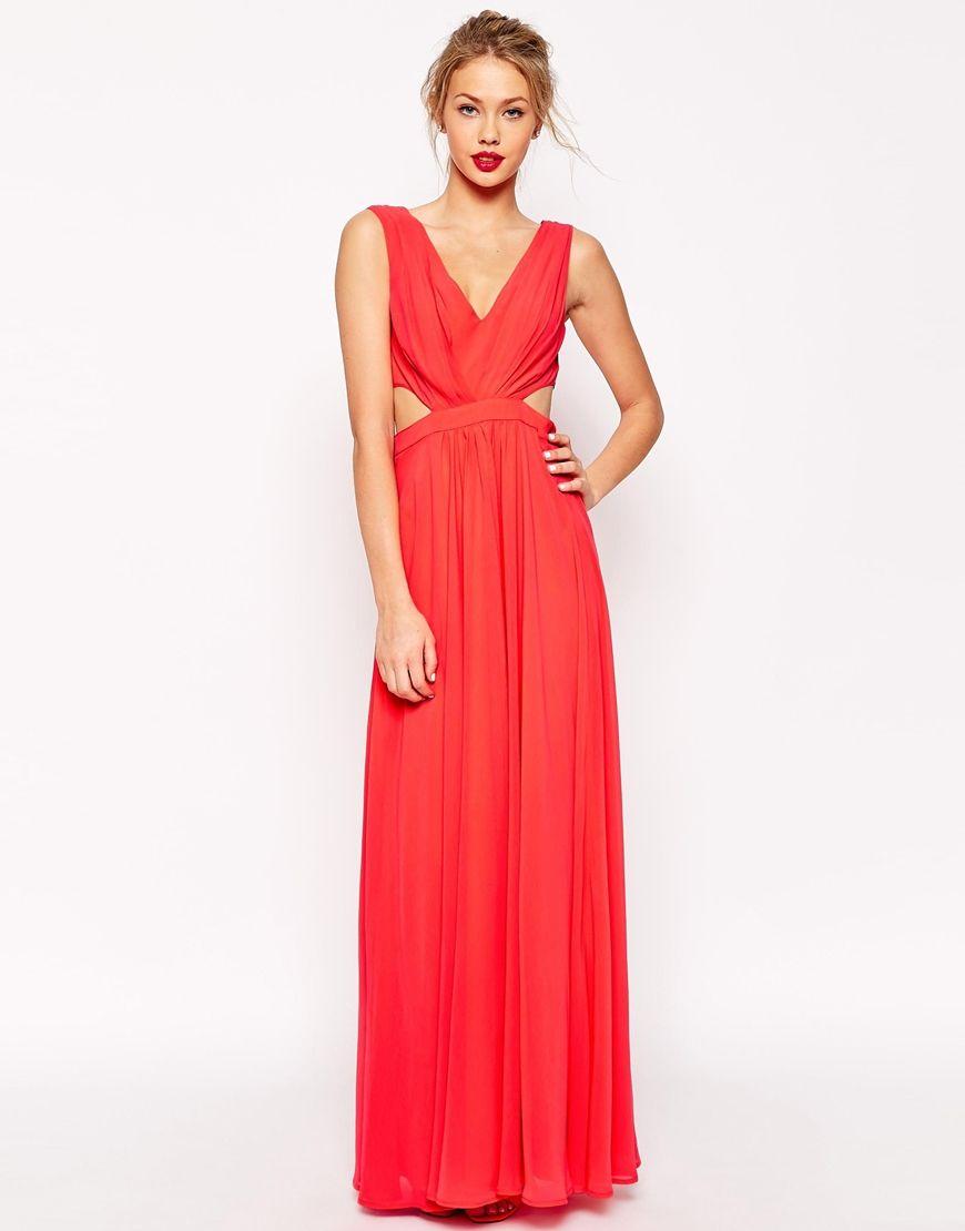 Asos side cutout maxi dress maxi it out pinterest maxi dresses