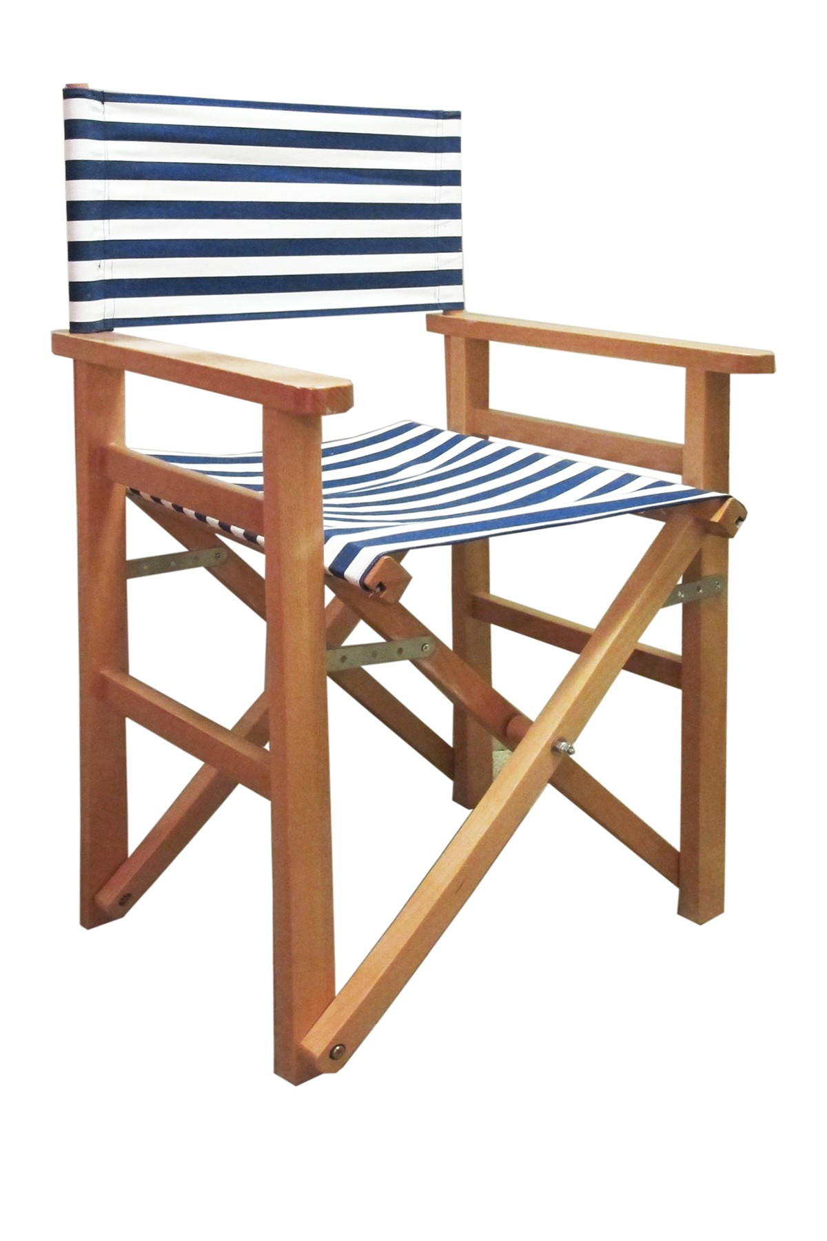 Jay Import Striped Navy Director's Chair in 2020 | Chair ...