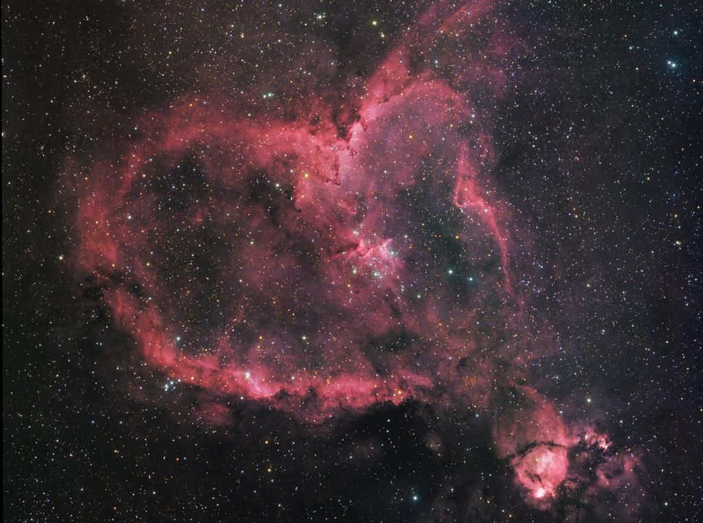 The Heart Nebula from Hubble #Love #LoveIsLove #MarriageEquality