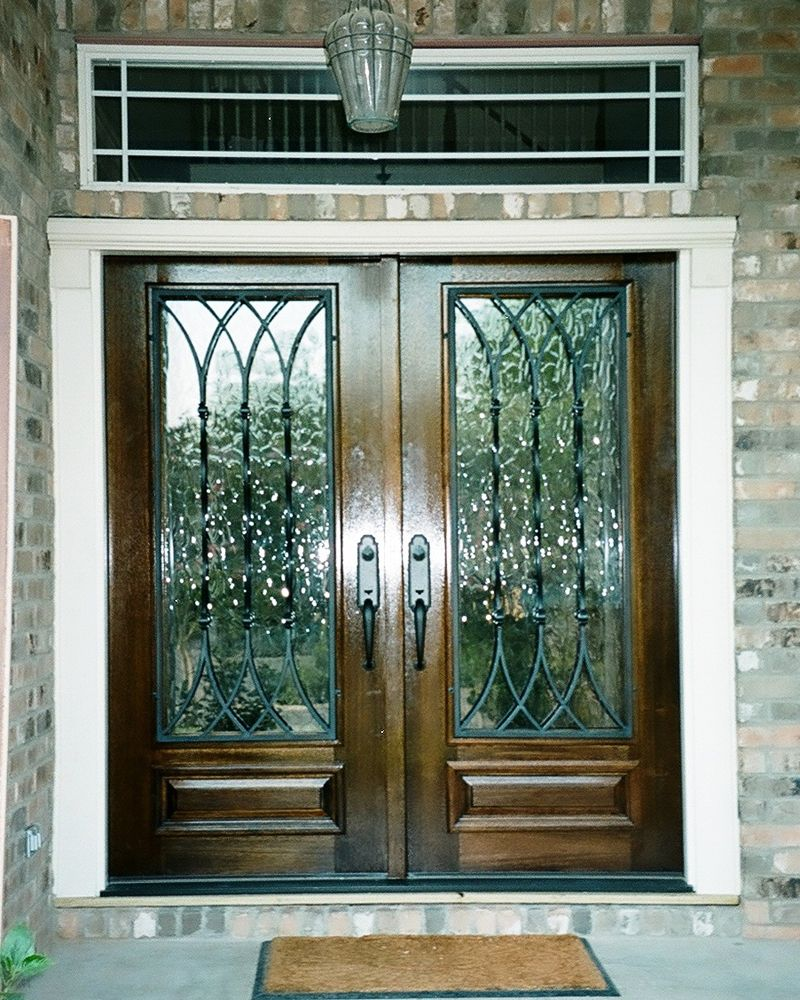 Wood And Iron Door Gallery   The Front Door Company