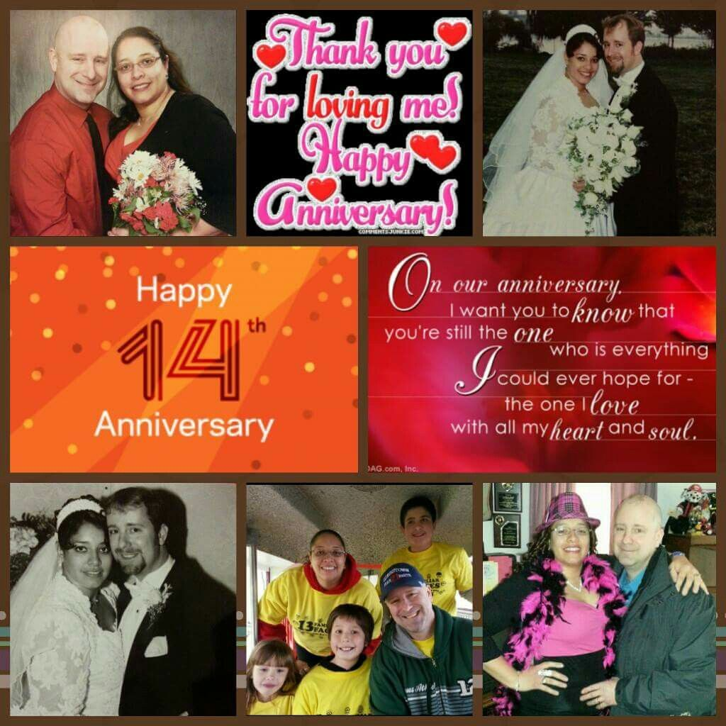 14th wedding anniversary with hubby charles 11613 love