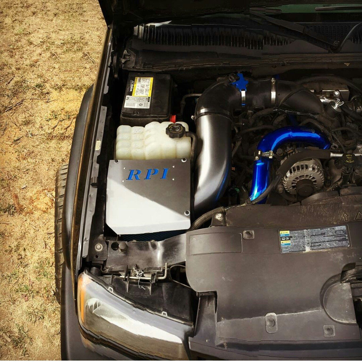 hight resolution of 06 07 duramax lbz custom 5 rpi intake