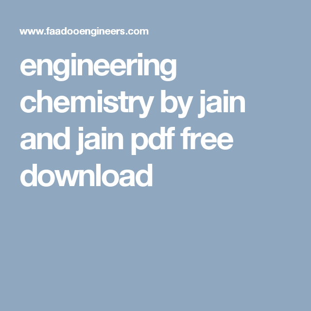 Engineering chemistry by jain and jain pdf free download pdf engineering chemistry by jain fandeluxe Choice Image