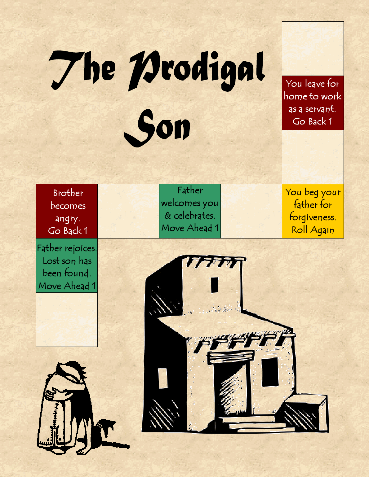 The Catholic Toolbox The Prodigal Son File Folder Game