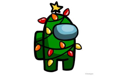 Among Us Christmas Tree Cute Patterns Wallpaper Wallpaper Iphone Christmas Funny Phone Wallpaper
