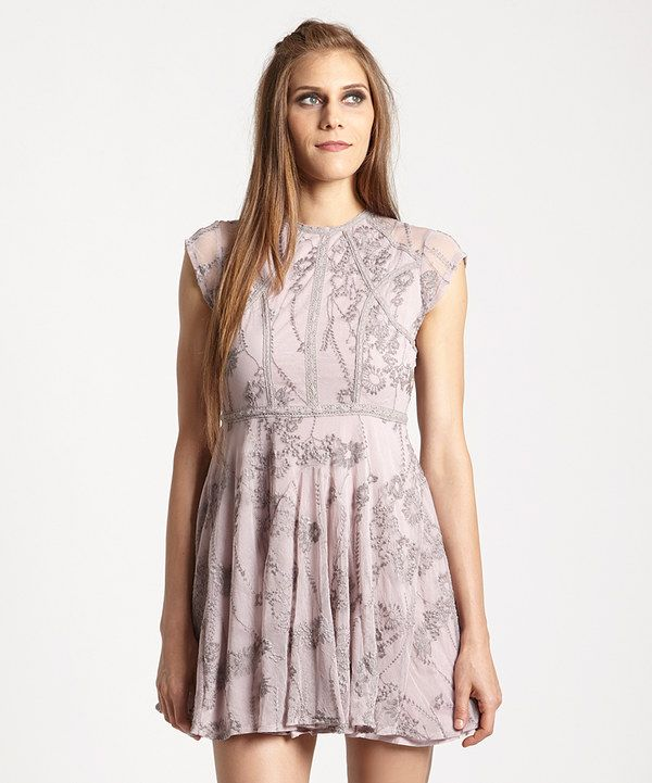 Look at this Dusty Lilac Laurel Lace Dress on #zulily today!