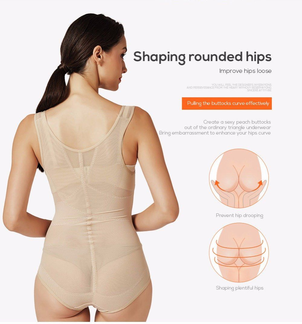 a2d66dbed11 Slimming Underwear Bodysuit Corset Slim Body Shaper Waist Trainer Shapewear  Underwear For Women