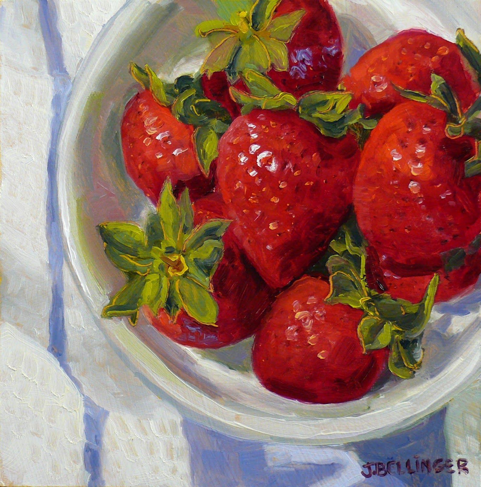 Jennifer bellinger studio vegetable painting fruit
