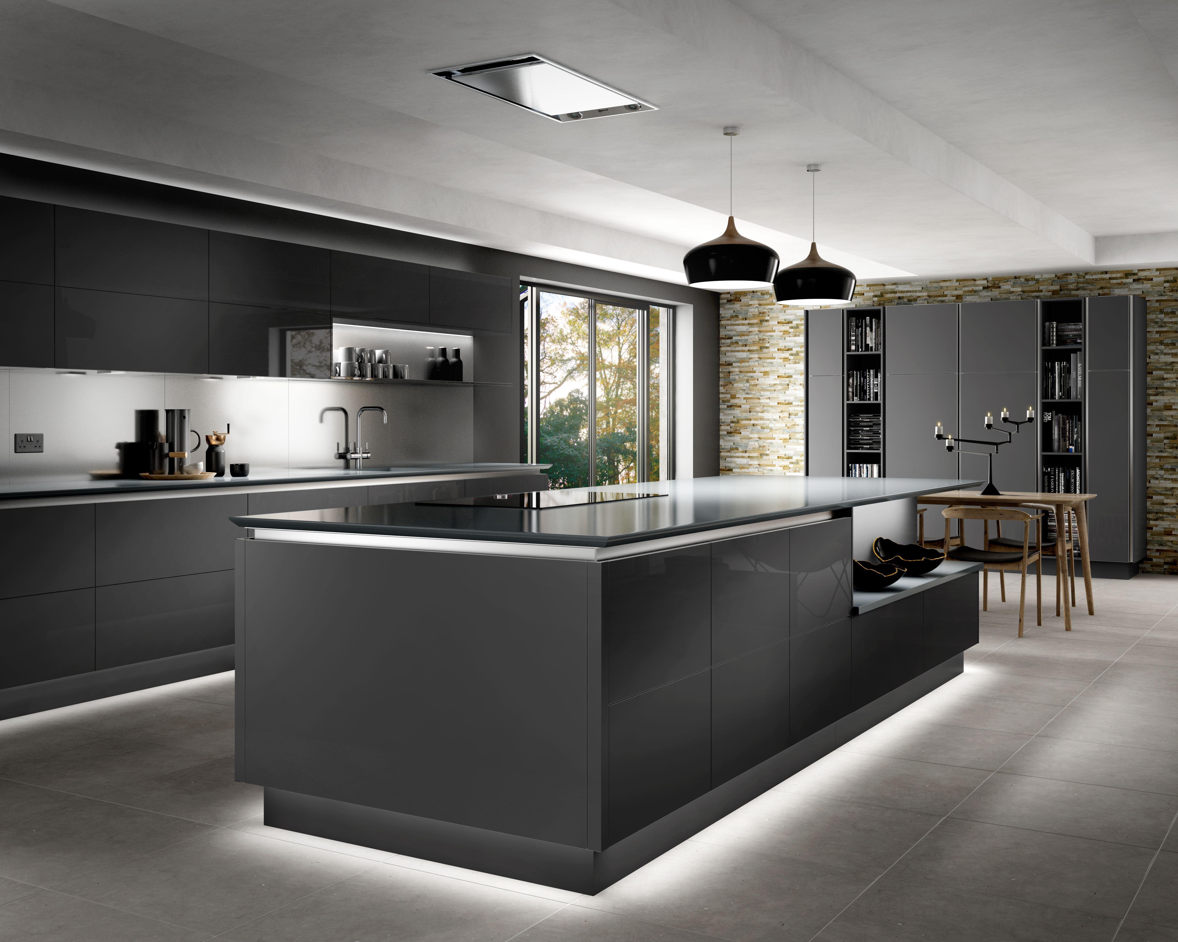 Intelliga Esker Contemporary Kitchen Range Wickes.co.uk