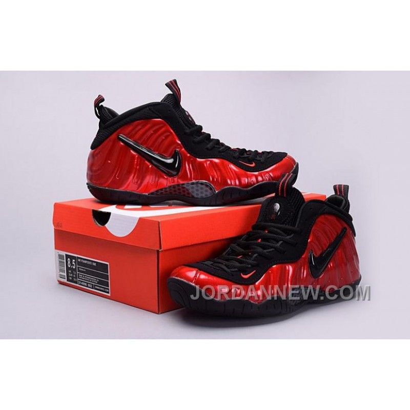 reputable site d002f d2e3e 2017 Nike Air Foamposite Pro University Red-Black Mens Basketball Shoes  Discount