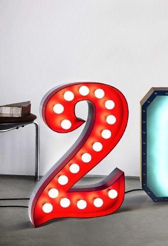 Deux Décembre, ou J-22, le décompte avant Noël continue! La maison Delightfull nous présente son numéro 2, version rétro des néons des années 50. Dix-huitampoules sont incluses et tout comme la la...
