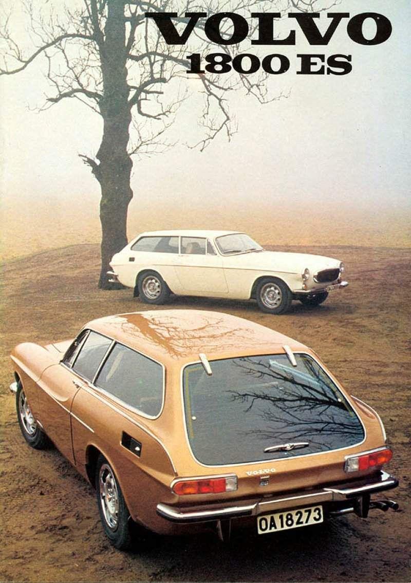 Volvo P1800 Es Brochure Volvo Classic Cars Volvo Cars