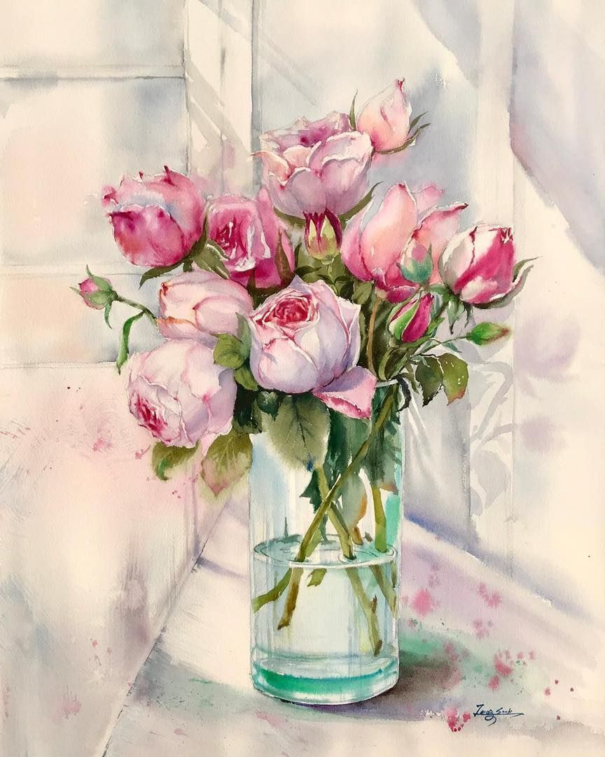 Watercolorist Paintinghyun Waterblog Akvarel Aquarelle
