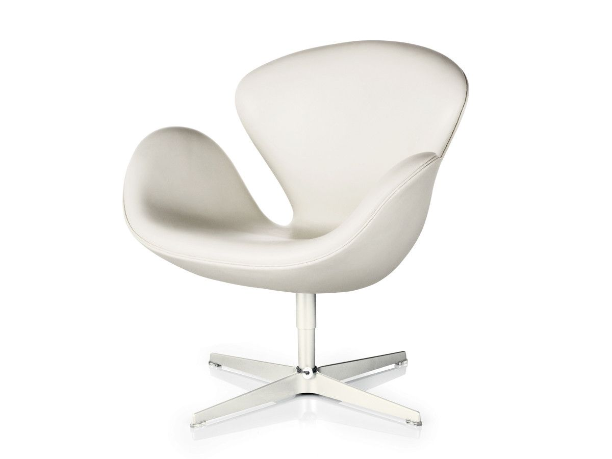 Beau 77+ White Leather Swan Chair   Cool Modern Furniture Check More At Http:/
