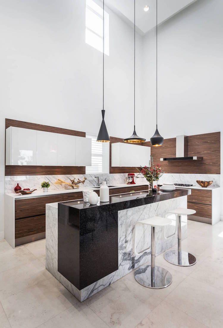 Ilot Cuisine Hauteur Table ~ Zoom Sur Les Points Forts De La Cuisine Moderne Avec Lot En 24