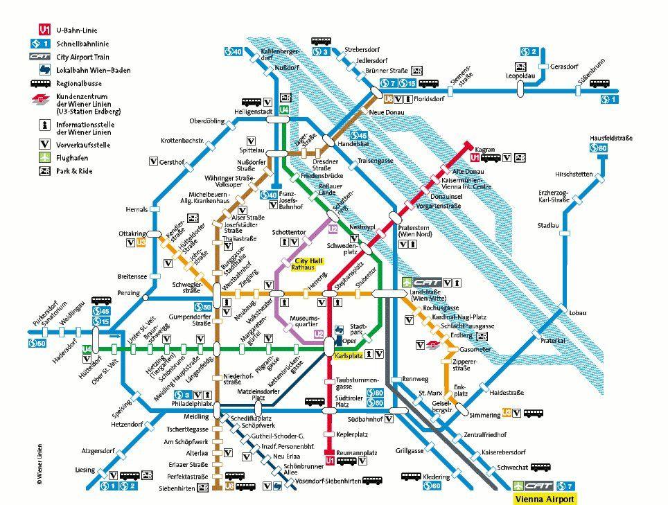 Vienna U Bahn Bitte umsteigen Thats AUSTRIA not Australia
