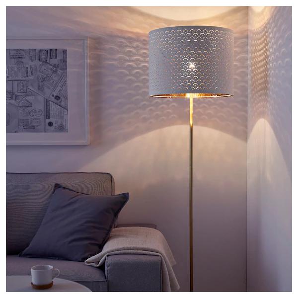 ikea lampadaire blanc lampadaire