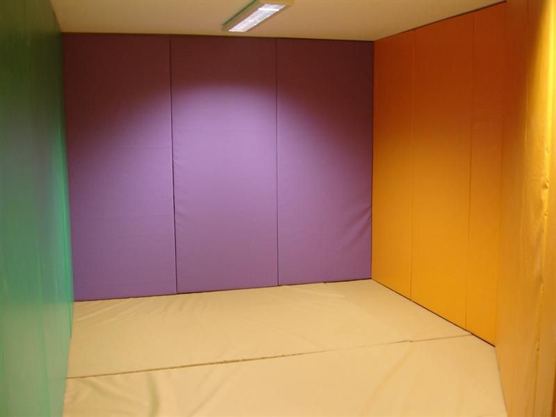 Wall And Floor Padding For Sensory And Or Calming Areas