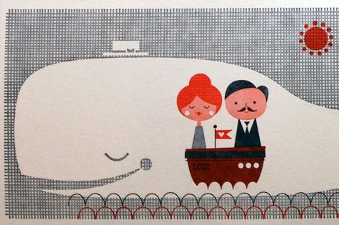 Oceans of Fun - Letterpress Cards by Suzy Ultman -