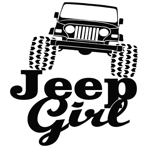 Jeep Girl Die Cut Vinyl Decal PV General Pinterest Jeeps - Car sticker decals vinyl girl