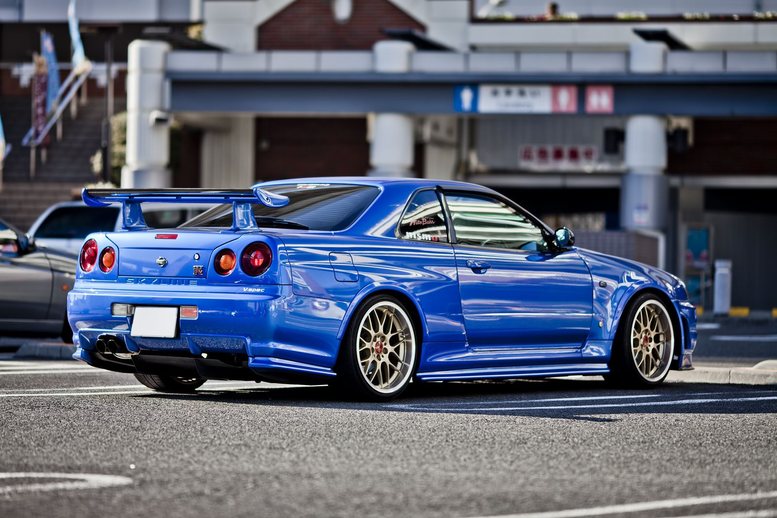 bayside blue r34 skyline gt r at daikoku futo godzilla pinterest r34 skyline jdm and nissan. Black Bedroom Furniture Sets. Home Design Ideas