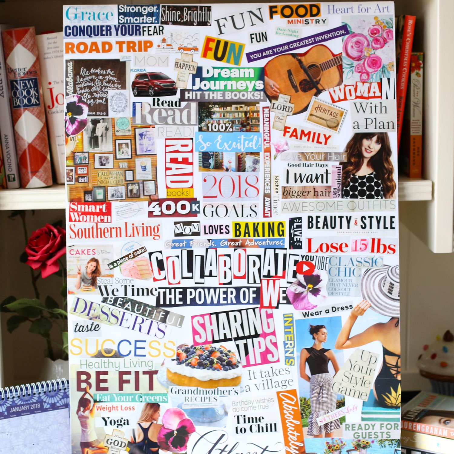 Kitchen Goals Heretomakelifeeasy: How To Create A Vision Board In 5 Easy Steps