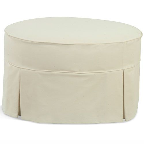 ottoman classic tufted x slipcovers slipcover upholstered round