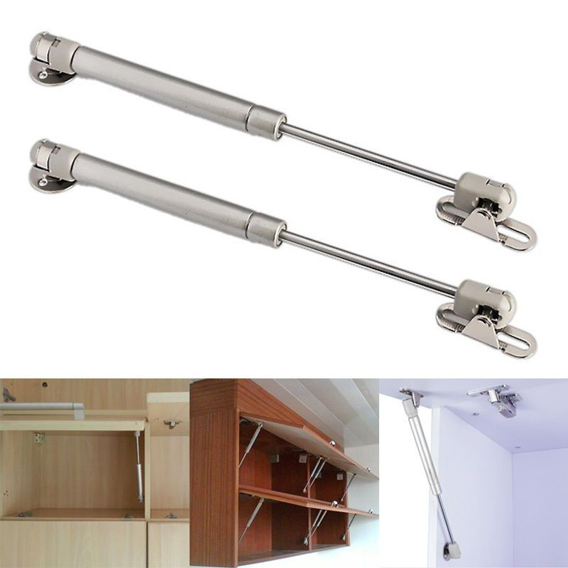 Kitchen Door Lift Pneumatic Hydraulic Gas Spring Lid Flap Stay Strut Support W Kitchen Cabinet Doors Furniture Hinges Hinges For Cabinets