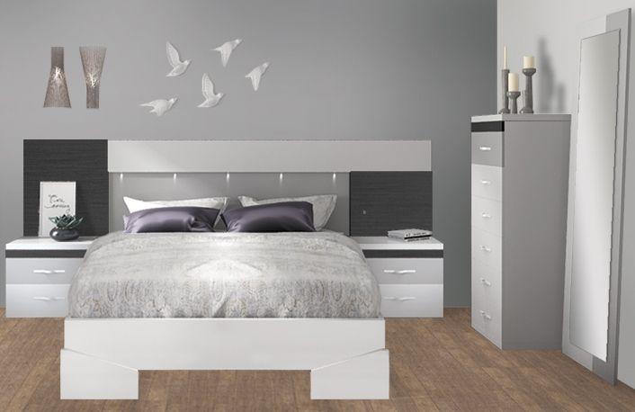 Dormitorios matrimonio modernos | venta online muebles BOOM | modelo ...
