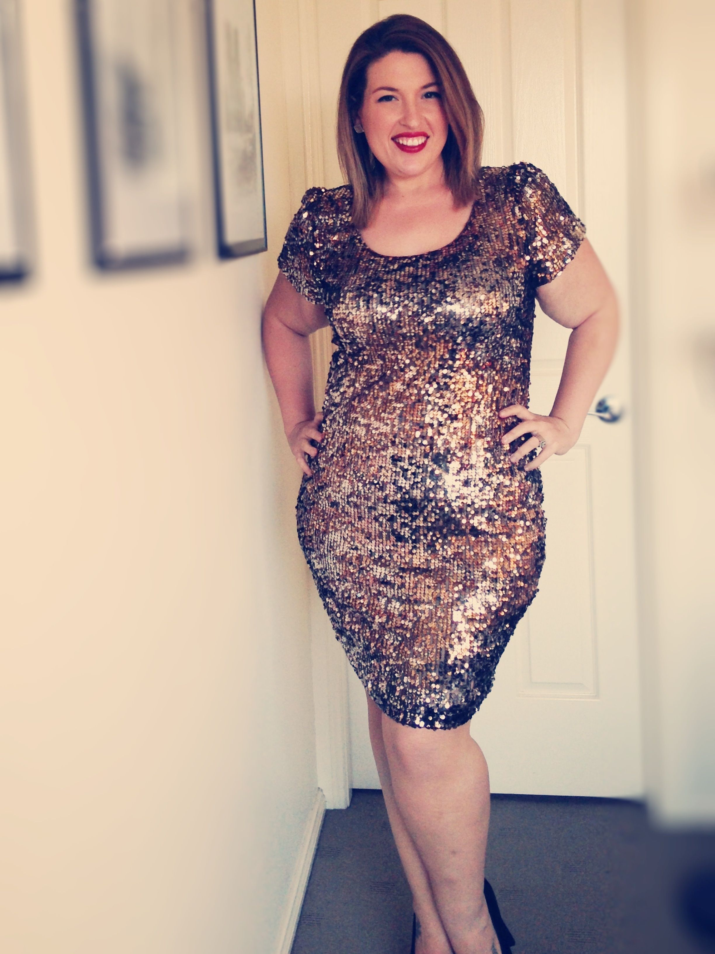Plus size gold dress plus size u curvy pinterest
