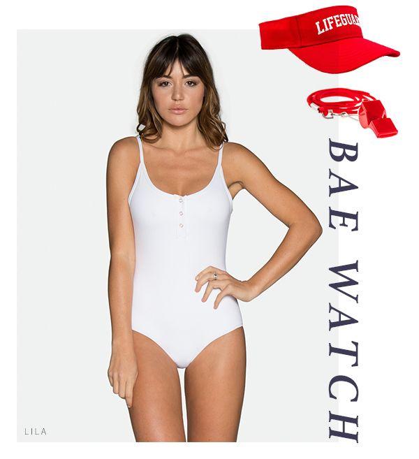 ede4006b471c6 TAVIK Swimwear x Halloween - Lila One-Piece | HALLOW'S EVE | Tavik ...