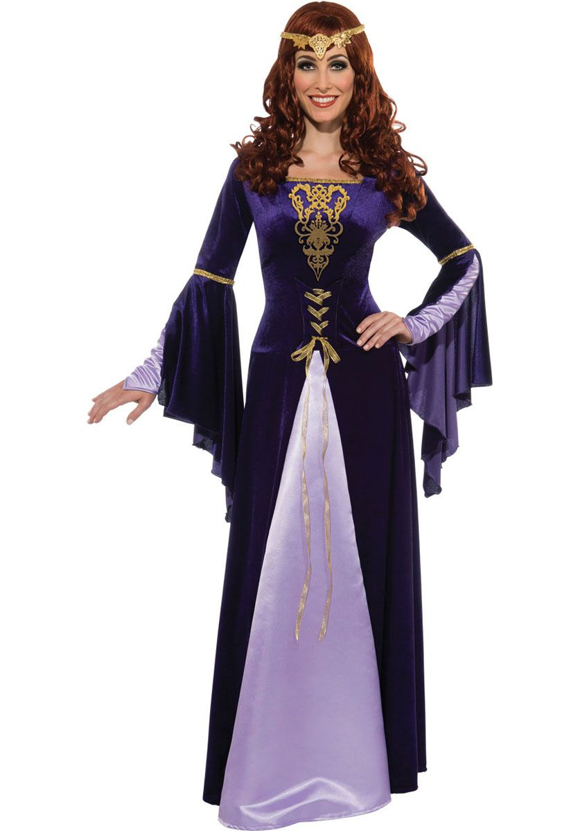 Lady Guinevere Costume - Historical Costumes at Escapade™ UK ...
