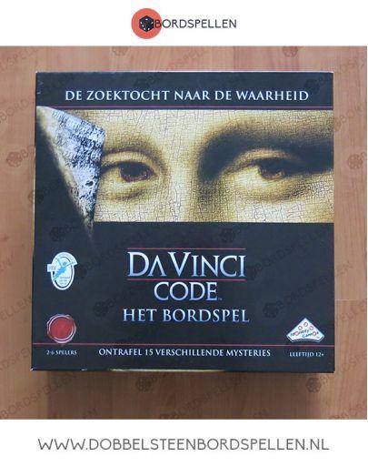 Da Vinci code het bordspel kopen tweedehands l dobbelsteenbordspellen €14,99. #bordspel #davincicode