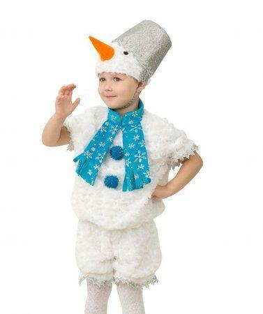 Костюм снеговика своими руками для девочки фото 740