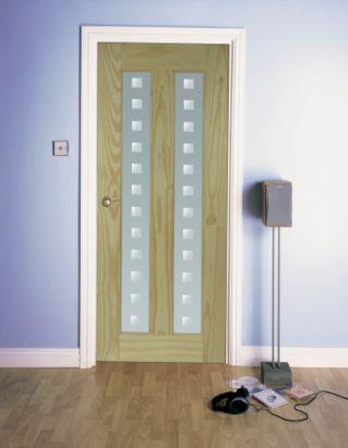 2 Panel Clear Pine Glazed Internal Glazed Door H 2040mm W 826mm Departments Diy At B Q Internal Glazed Doors Glazed Door Diy Door