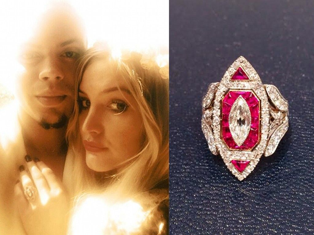 Marquise Cut Diamond Engagement Rings – A Favorite Choice For Top  Celebrities: Ashlee Simpson