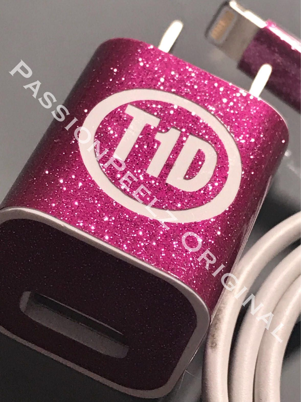 Charger diabetes skins t1d type 1 awareness by passionpeelz on etsy