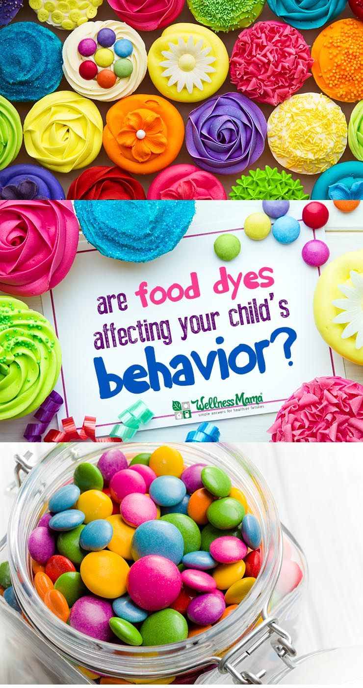 Do Food Dyes Affect Behavior? | Foods, Healthy living and Health ...