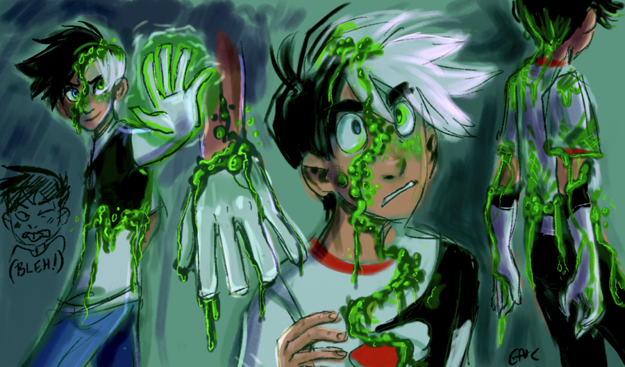 This Is An Out Dated Design Edit Suggested By To Put Laughing Happening In The Background I Thank You So Much For The Idea T Danny Phantom Phantom Ghost