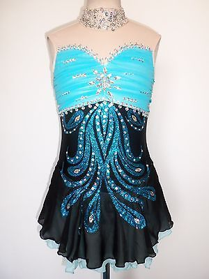 NEW ICE SKATING TWIRLING BATON DRESS ADULT S
