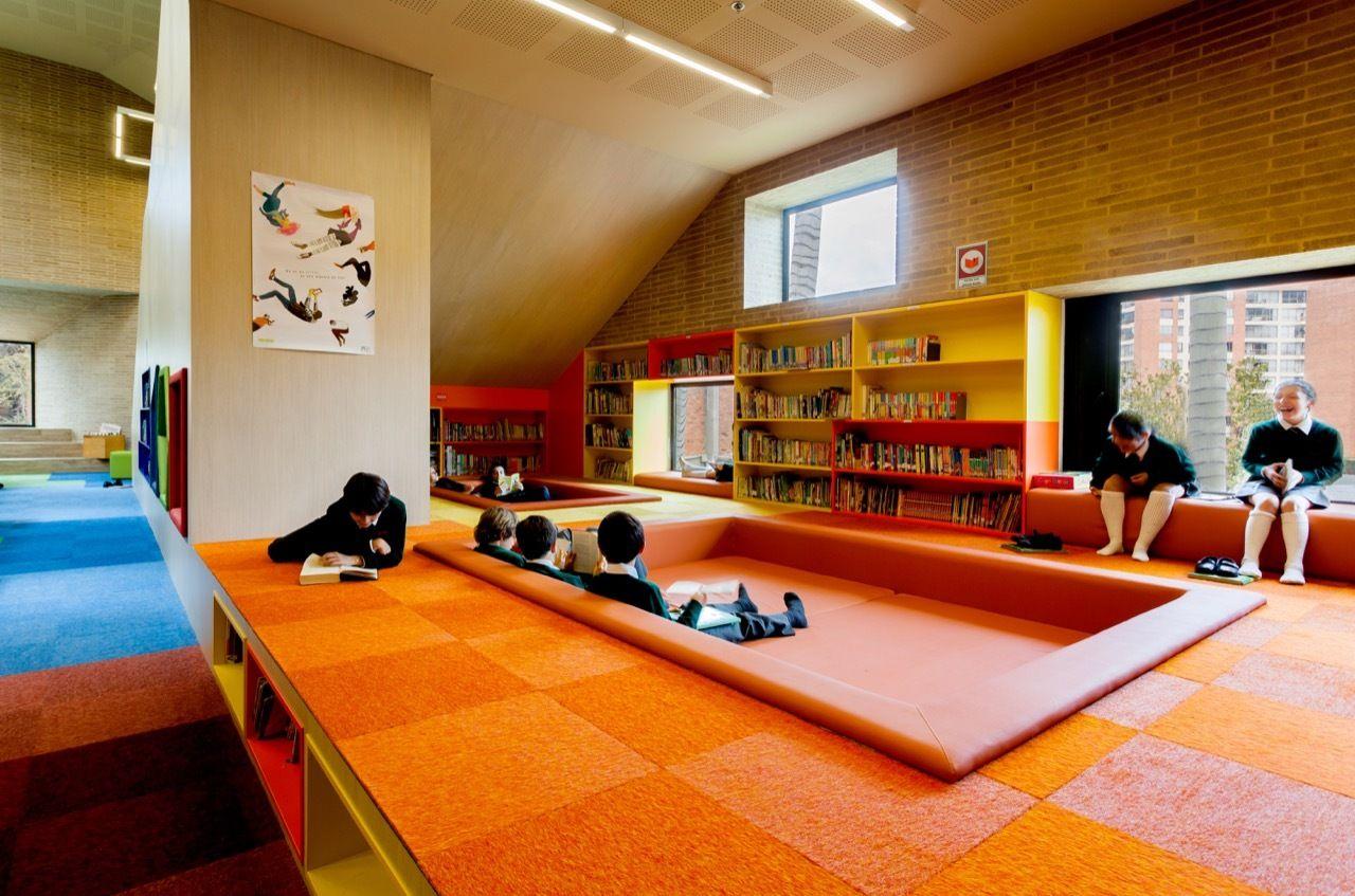 Gallery of daniel bonilla arquitectos 2 - Interior design for school buildings ...