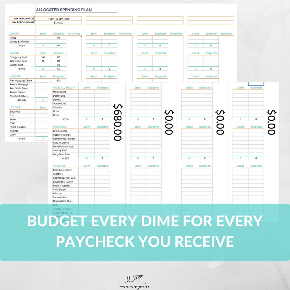 Dave Ramsey Budget System Template Dave Ramsey Baby Step Total