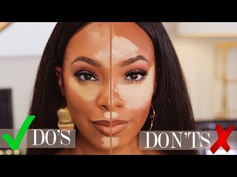 19 makeup for beginners highlight  contour do's and