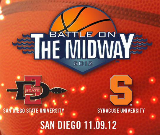 Battle On The Midway No 20. SDSU vs. No. 9 Syracuse (Game