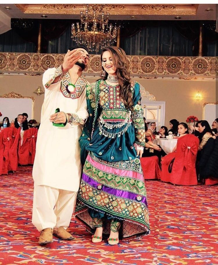 Afghan Wedding Gowns: The Real Afghan Couples😍😍😍