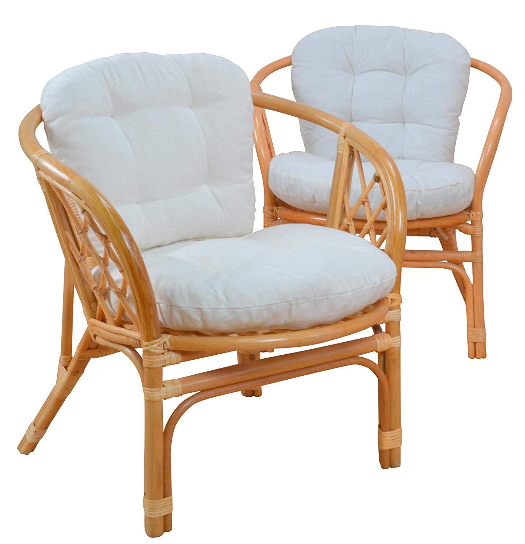 Pflegeleichte Oberflachen Handgeflochten Sitzhohe Mit Kissen Ca 47 Cm Belastbarkeit Des Sessels Ist Ca 90 Kg Bezug 65 Ba Sessel Rattansessel Outdoor Sessel