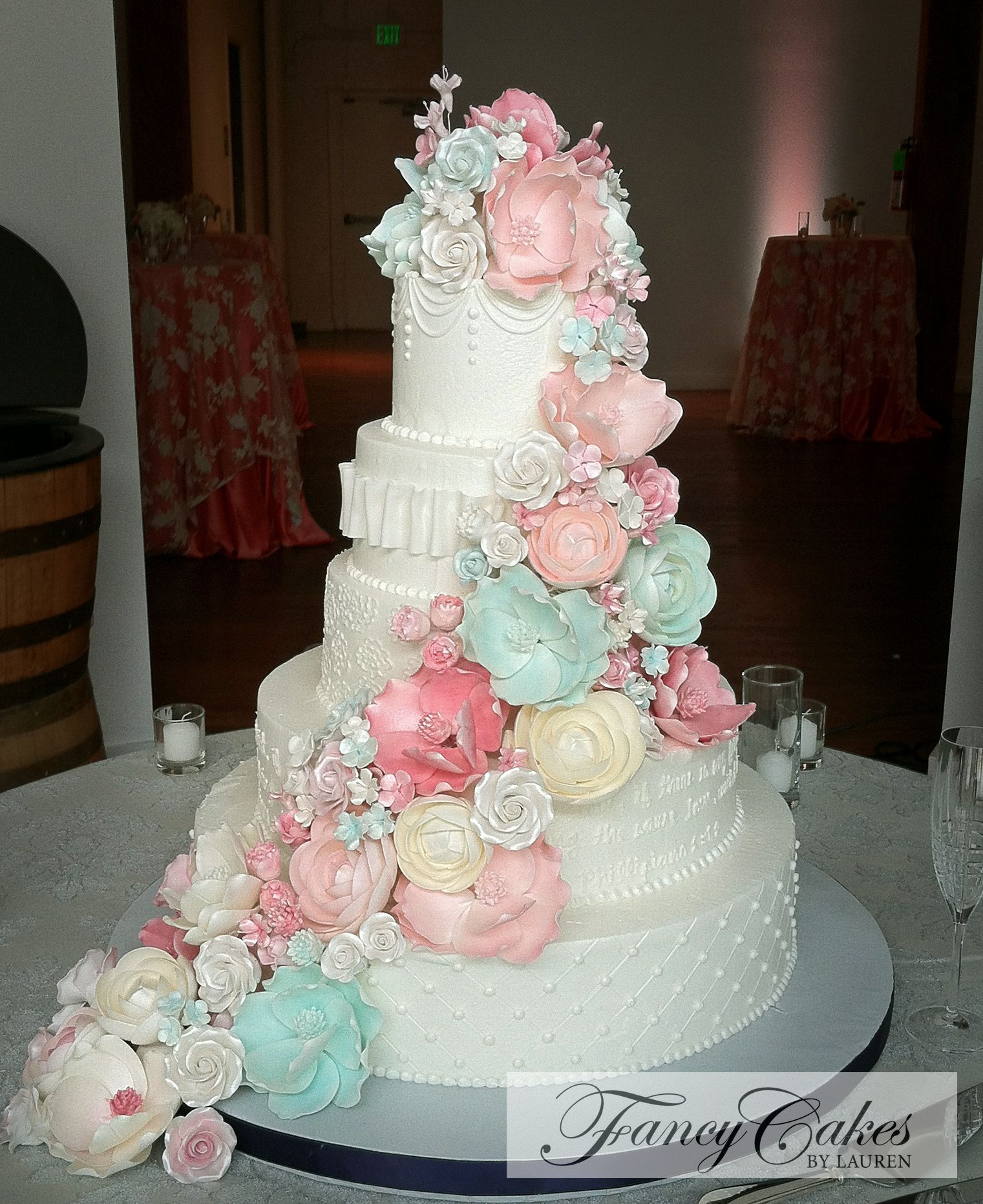 Best 10 Pastel Wedding Cakes Ideas On Pinterest Tiered Wedding Cakes Past