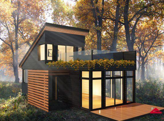 Pin by Hanna Hanks on Tiny Homes Pinterest Tiny houses, House - plan maison avec cotation