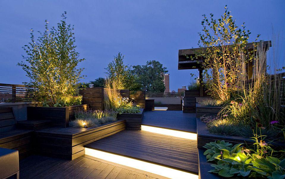 Rooftop Deck And Garden Roof Garden Design Terrace Garden Design Rooftop Design