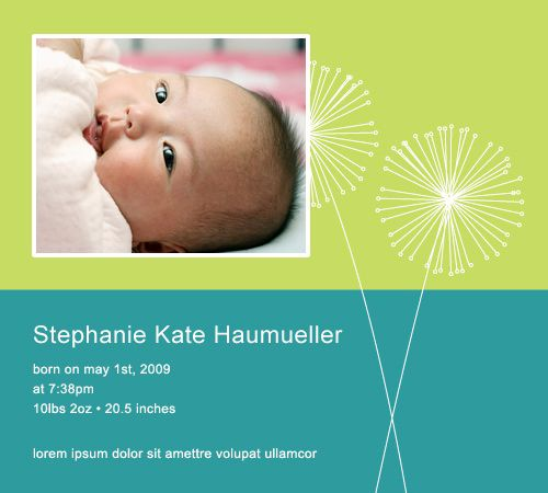 Free Birth Announcements You Can Email From Babycenter Com